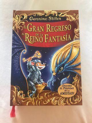 Geronimo Stilton Gran Regreso al Reino Fantasia