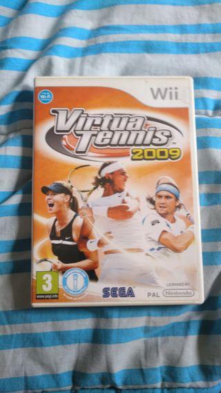 VIRTUATENNIS 2009. Wii