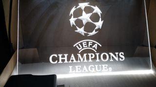 Cartel luminoso UEFA Champions League led