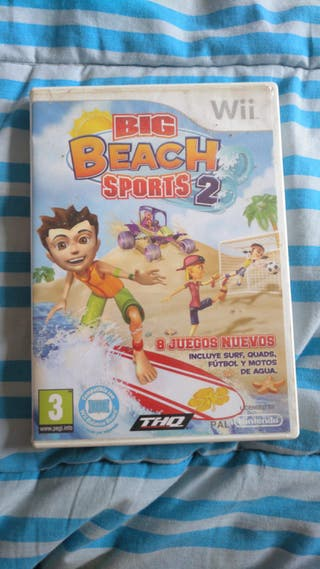 BIG BEACH SPORTS 2. Wii.