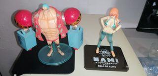 Set de Figuras One Piece: Nami y Franky