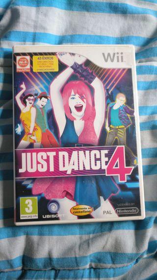 JUST DANCE 4. Wii.