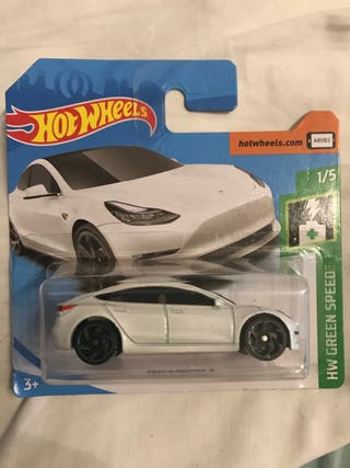 Tesla model 3 hot wheels