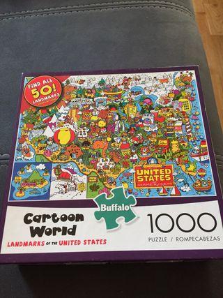 Puzzle 1000 piezas usa