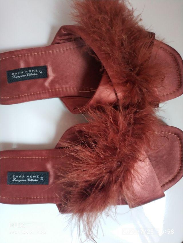 Zapatillas de Zara home