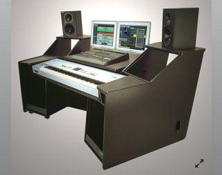Mueble estudio grabación