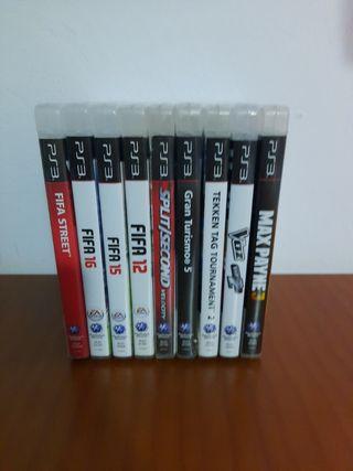 Juegos consola Ps3