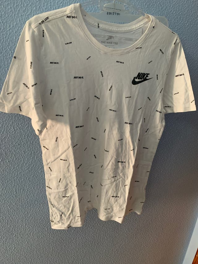 camiseta nike , just do it