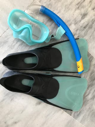 Kit snorkel Decathlon niños T.36