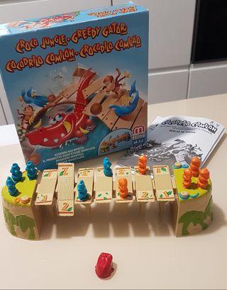Cocodrilo Comilón de Mattel 2 jugadores