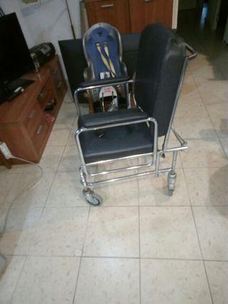 silla naño minusvalido