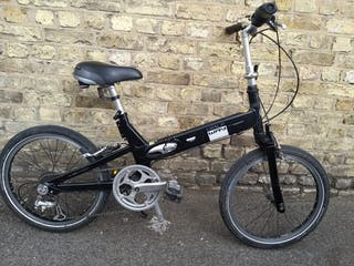 #gaint half way folding bike for adult, with bike,