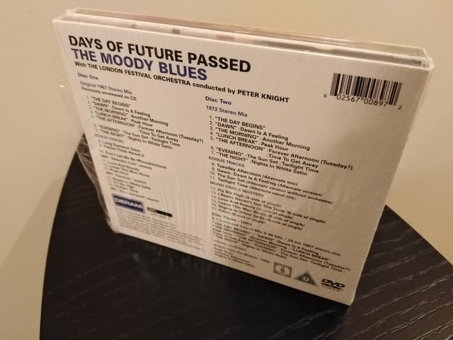 THE MOODY BLUES Days Of Future Passed 1967 2CD+DVD