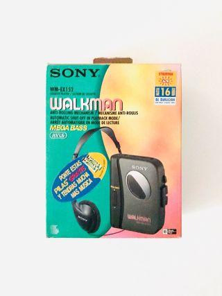 Walkman SONY WM-EX152 *NUEVO*