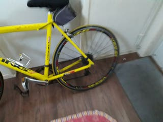 Yellow Viking Racing Bike