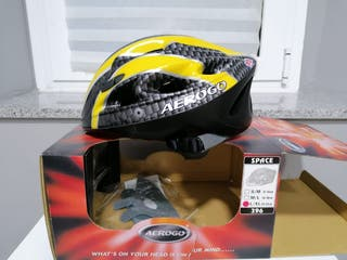Casco de bicicleta Aerogo. Nuevo.