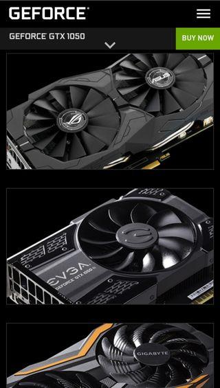¡URGE! Tarjeta gráfica GeForce GTX 1050 2 GB.
