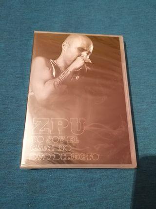 ZPU YO SOY EL CAMBIO DVD DIRECTO PRECINTADO