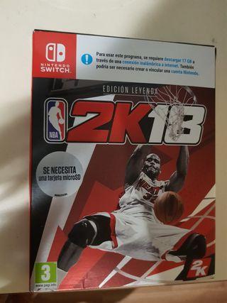 NBA 2k18 Edición Leyenda Nintendo switch