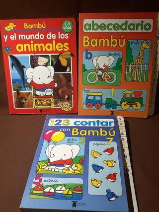 3 Libros infantiles - Aprende con Bambú
