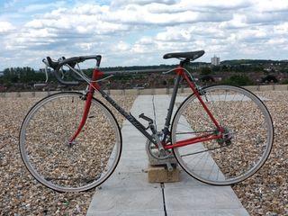 1992 Raleigh dyntech 725ti Titanium original