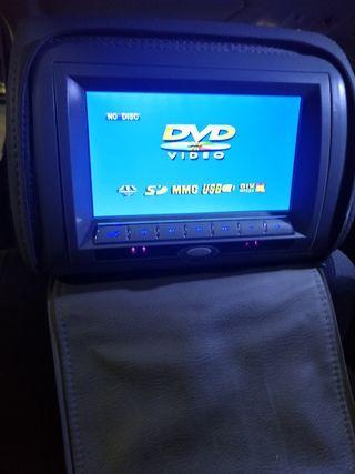reposa cabezas DVDs universal