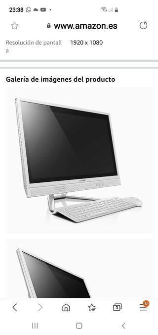 All in one pantalla táctil 23 8Gb ram