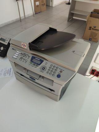 Impresora, escáner y fax, Brother.