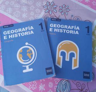 Libros de Geografía e Historia 1 ESO