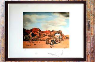 Salvador Dali - Litografía 50 x 65 Numerada E Firm
