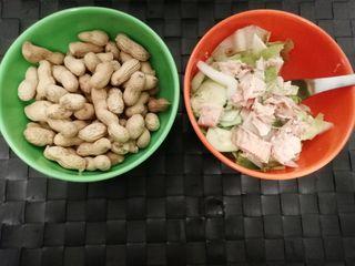 Cuencos bowl verde y naranja