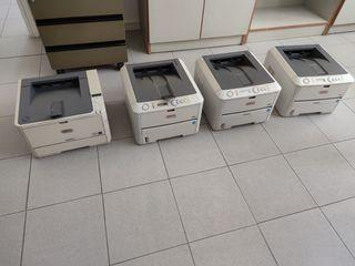 Impresoras láser doble cara Oki B430d y B431d