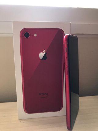 SE VENDE IPHONE 8 RED EDITION 64BG