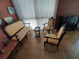 muebles isabelinos antiguos