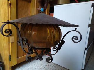 lámpara de techo antigua vintage