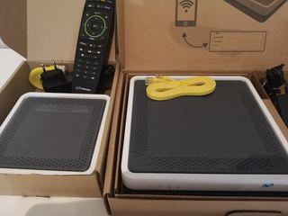 Router Smart wifi más descodificador 4k Movistar