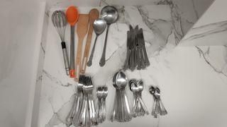 Cubiertos y utensilios cocina