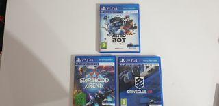 Juegos PS4 VR