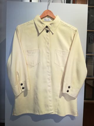 Camisa aterciopelada vintage XL oversize