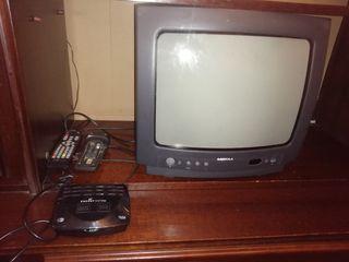 TV 14 pulgadas con aparato de tdt incluido