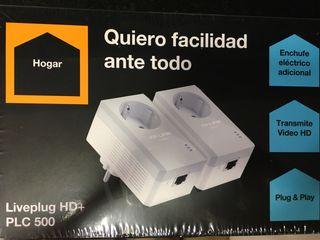 Adaptadores PLC Liveplug HD+ PLC 500 NUEVOS