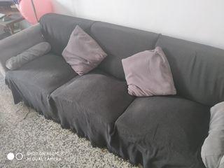 sofa 3 plazas en buen estado urge venta