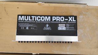 Multicom Pro XL . Behringer MDX 4600. 4 canales