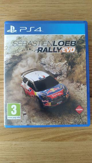 Sébastien Loeb Rally Evo para PS4 PAL España