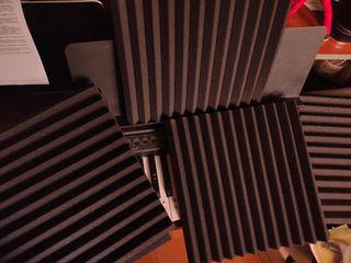 Espuma acustica estudio grabación
