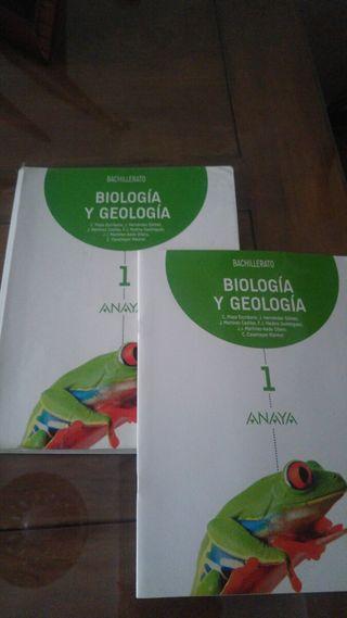 Libro de Biologia 1° bachillerato