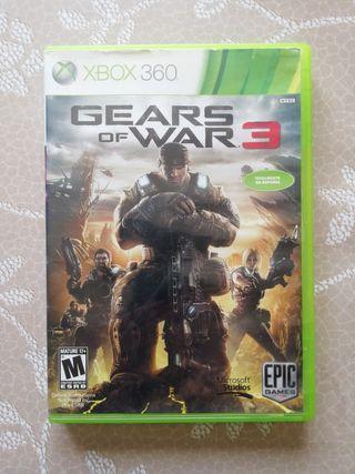 gears of wars 3 para Xbox 360 en español