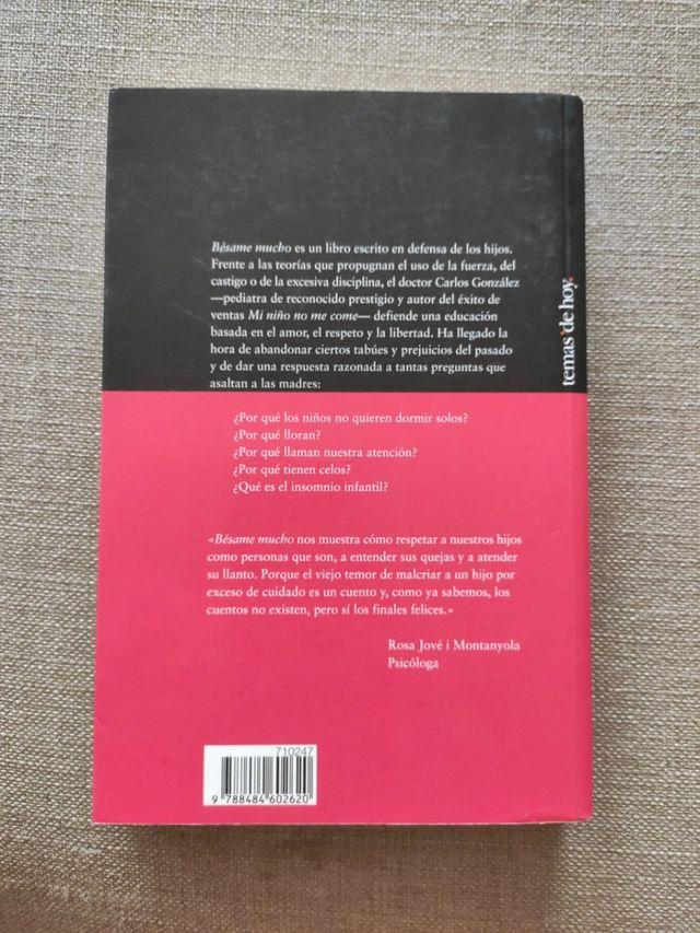 Libro Bésame mucho, Carlos González