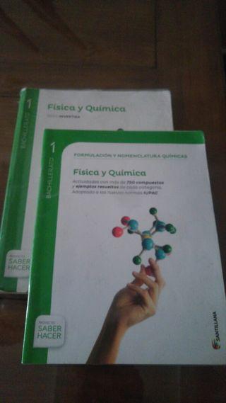 Libro Fisica y Quimica 1°de bachillerato