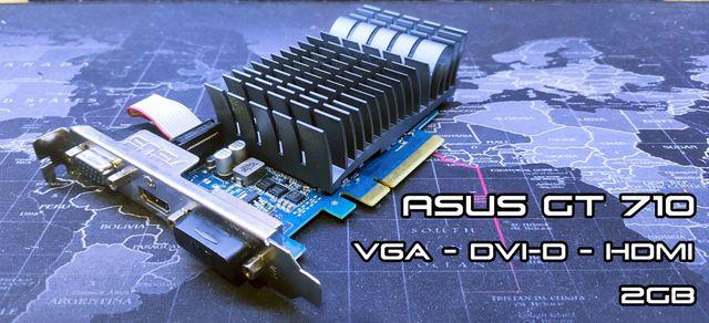 Tarjeta gráfica ASUS GT 710 2GB